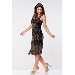 Molly Flapper Dress (black...