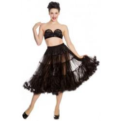 Long Petticoat Black