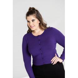 Paloma Cardigan (purple)