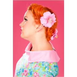Hibiskus Haarklipp (diverse Farben)