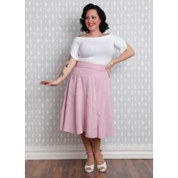Viviana Blush Swing Skirt