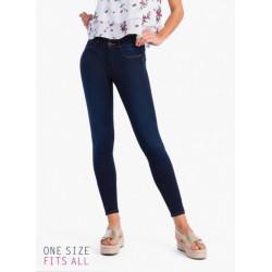 One Size Jeans (Double Up dunkelblau denim)