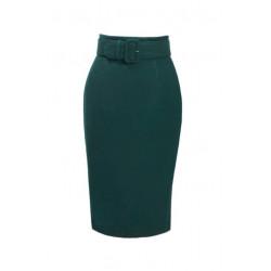 Woolen Skirt Passy (grün)