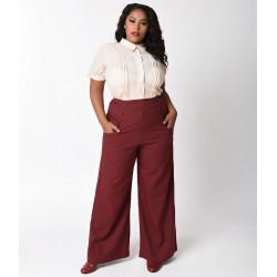 Ginger Pants Unique Vintage (burgundy red)