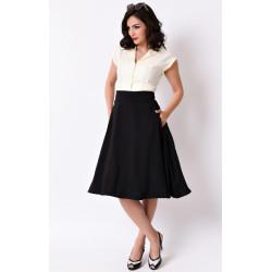 Vivien Swing Skirt Unique Vintage (schwarz)