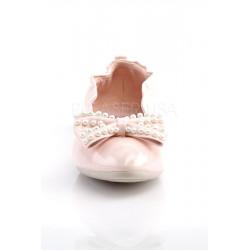 Ivy 09 Ballerina mit Perlen (hellrosa)