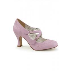 Flapper 35 Sandale aus Kunstleder (lavendel)