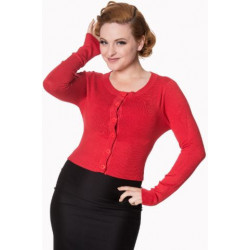Dolly Cardigan (red)