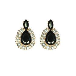 Teardrop Diamante Earrings