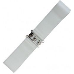 Vintage Strech Belt (weiss)