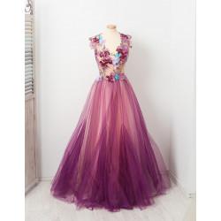 Lavande Fondant Dress