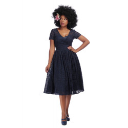 Nina Lace Swing Dress