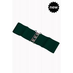 Vintage Stretch Belt (green)
