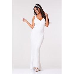 Sophie Maxi Dress (white)