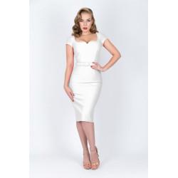 Gina Dress (weiss)