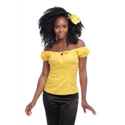 Lorena Top (yellow)