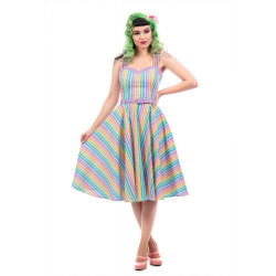 Nova Rainbow Stripes Swing...