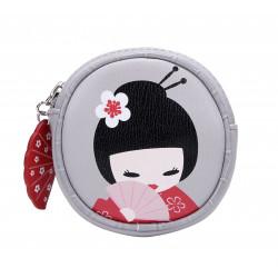Vendula Geisha Round Coin...