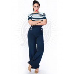 Retro Sailor Pants (navy)