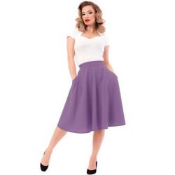 High Waist Thrills Skirt Lila