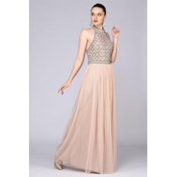 Selena Maxi Dress (blush)